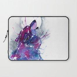 Galaxy Wolf Laptop Sleeve