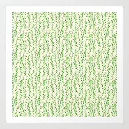 String of Pearls Pattern Art Print