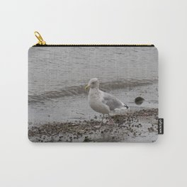 Seagull on the Coast of Rockland, Maine. Carry-All Pouch