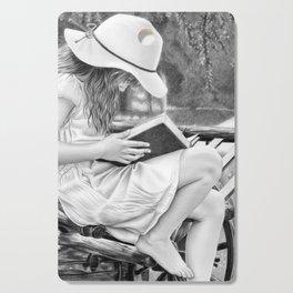 Summer Reading Cutting Board