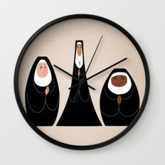 Three Nuns Wall Clock