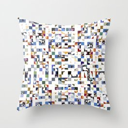 Sound of the Crowd Throw Pillow