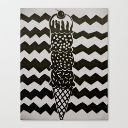 ice cream Canvas Print