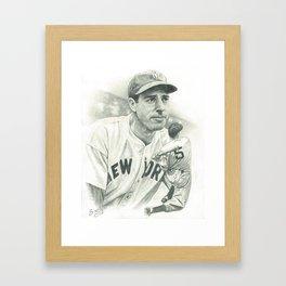 Joltin' Joe Framed Art Print