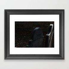Grave 1 Framed Art Print
