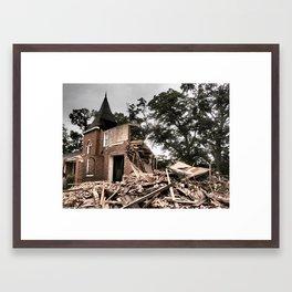 worship Framed Art Print