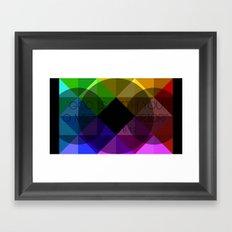 Colors Card Framed Art Print