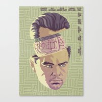 inception Canvas Prints featuring INCEPTION by Mike Wrobel