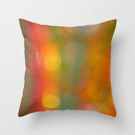 Bokeh Background Throw Pillow
