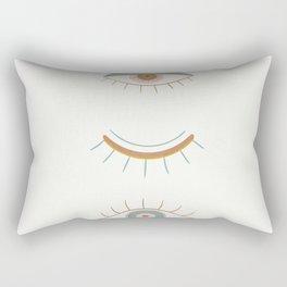 Evil Eyes II Rectangular Pillow