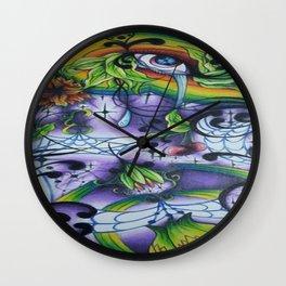 The Eye of Life Wall Clock