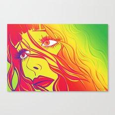 Psychedelic Bella Canvas Print