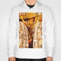 jesus Hoodies featuring Jesus by Ganech joe