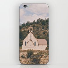 Old Church on a Hill iPhone & iPod Skin