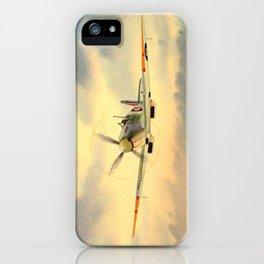 Supermarine Spitfire MK IX Aircraft iPhone Case