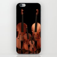 mortal instruments iPhone & iPod Skins featuring String Instruments by Simone Gatterwe