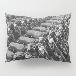 Motorcycles straight from the factory Pillow Sham