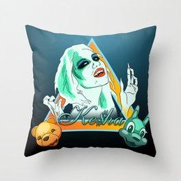 Ke$ha! Throw Pillow