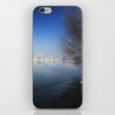 Snow over the River iPhone & iPod Skin
