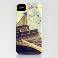 Paris is Flying iPhone (4, 4s) Slim Case