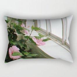 Pink Window Rectangular Pillow
