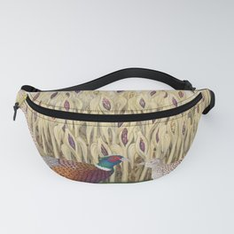 ring necked pheasants and corn Fanny Pack