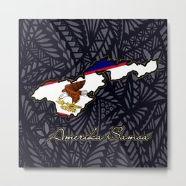 Amerika Samoa Metal Print