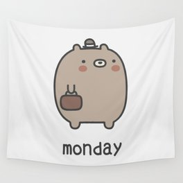 Monday Wall Tapestry