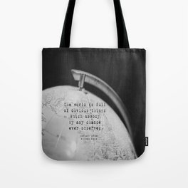 Sherlock Holmes World Obvious Tote Bag