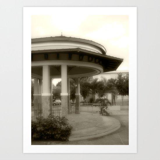 Plaza de Rincon # 2 Art Print