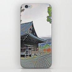Temple at Dusk iPhone & iPod Skin
