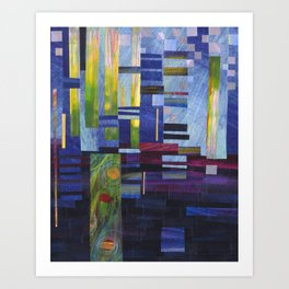 Abstract One Art Print