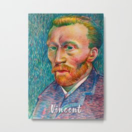 Vincent Metal Print