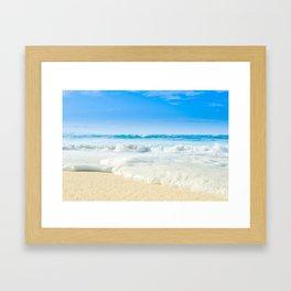 Beach Love Summer Sanctuary Framed Art Print