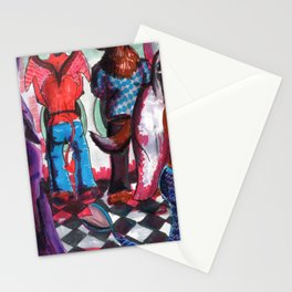 sexy monsters Stationery Cards