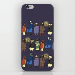 Victorian Penguins iPhone Skin