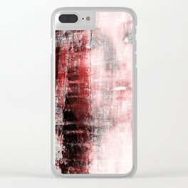 """""""abstract seduction serie #4"""" Clear iPhone Case"""