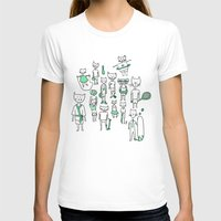 sports T-shirts featuring les sports by Estelle F