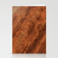 mars Stationery Cards featuring Mars by Lyle Hatch
