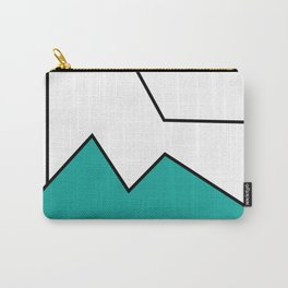 ABSTRACT MOUNTAIN LINES Carry-All Pouch