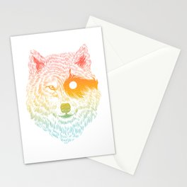 I Dream in Solitude Stationery Cards