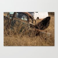 truck Canvas Prints featuring Truck by Woodler Photo