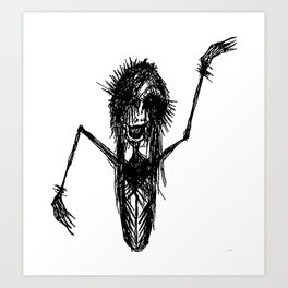 Evil Estelle Art Print