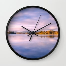 Lake of Monteith Wall Clock