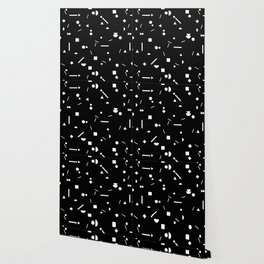 My Favorite Pattern 3 black Wallpaper