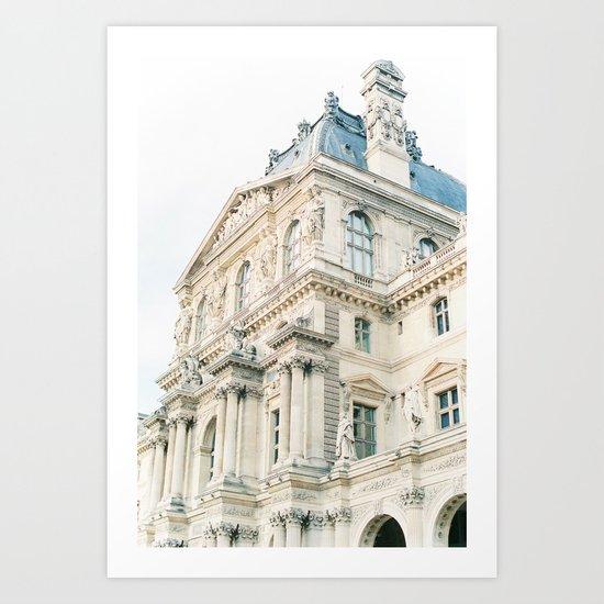 Parisian beauty Art Print