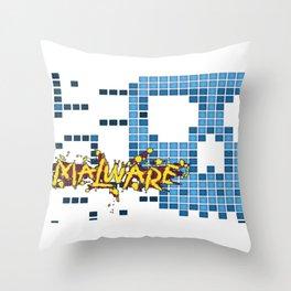 Malware Throw Pillow