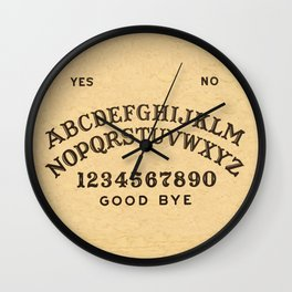 Ouija Board Wall Clock