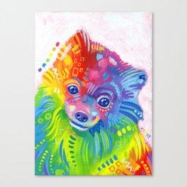 Rainbow Cookie Canvas Print
