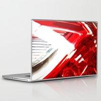 porsche Laptop & iPad Skins featuring Porsche Light by Emma Dowling